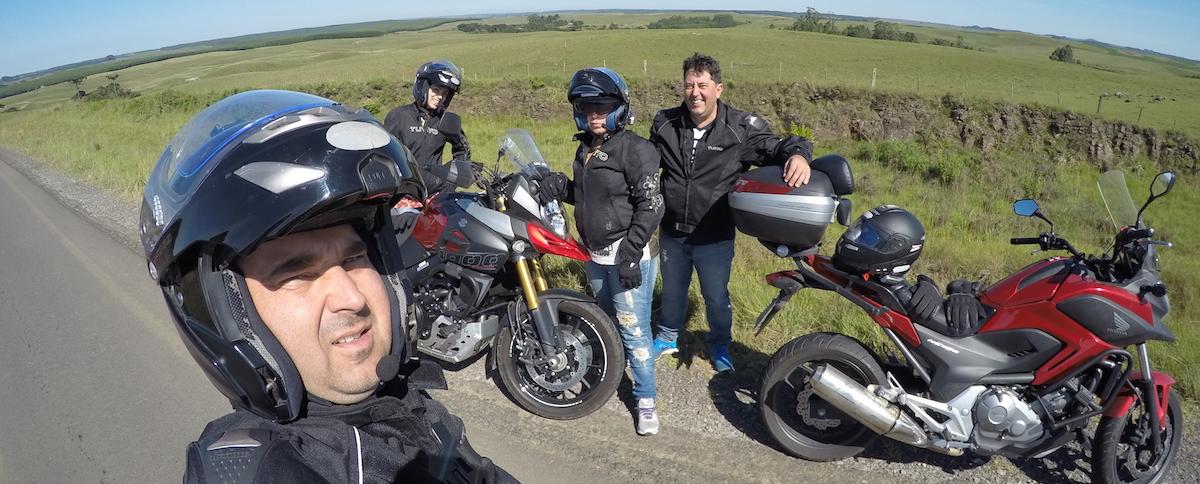 Passeio de moto